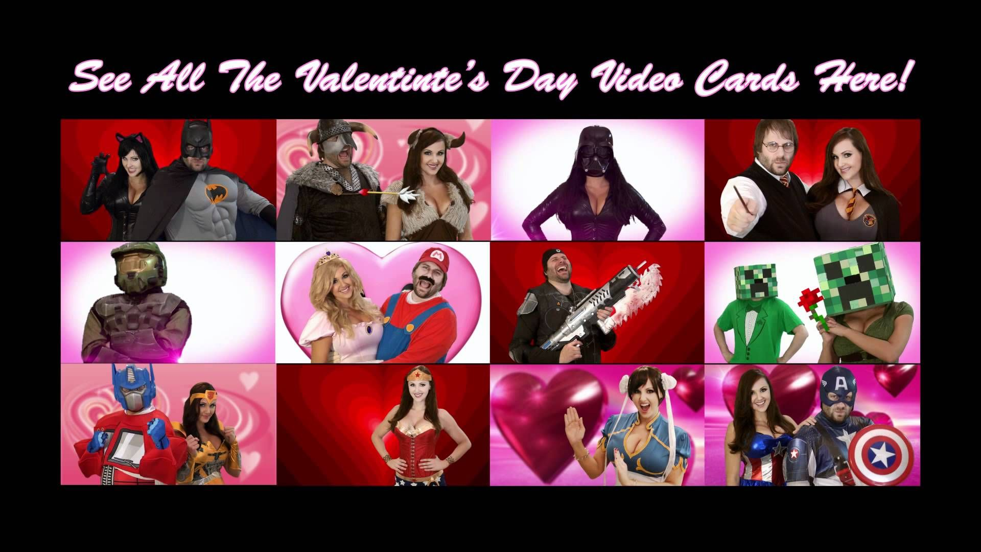 Catwoman Valentines Day Video Card Xtragames4free – Valentine Day Video Card