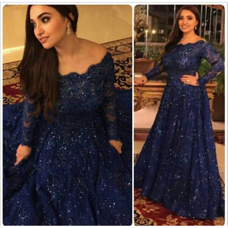 Find A Dark Navy Blue Lace Plus Size Prom Dress 2016 Boat Neck