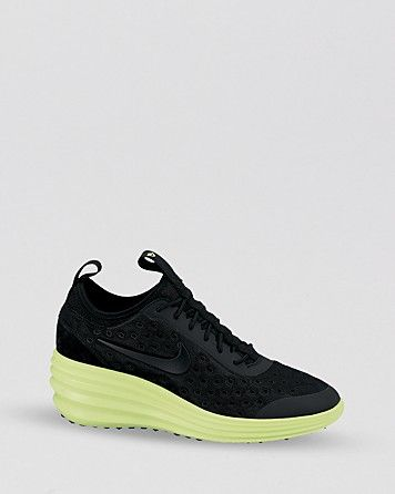 best value 7a187 ac1e2 Nike Lace Up Sneakers - Women s Nike Lunar Elite Sky Hi   Bloomingdale s