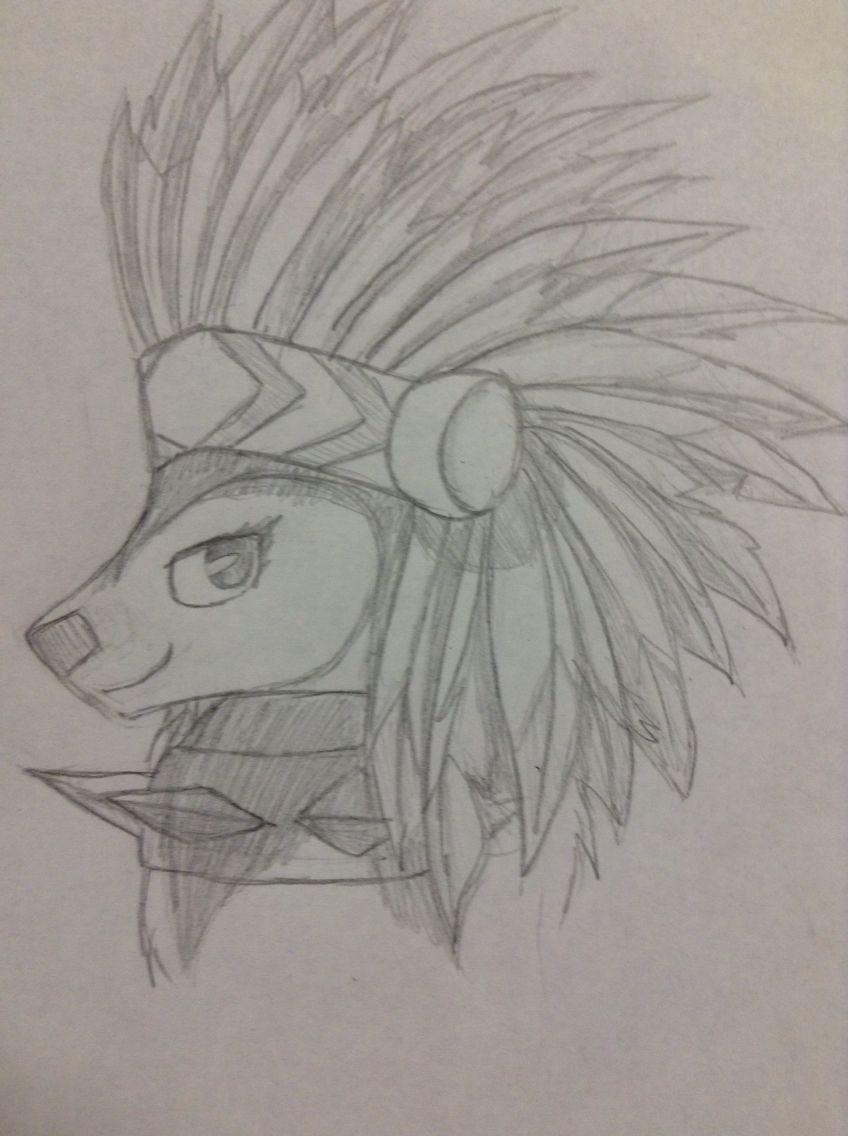 Olhe So Que Desenho Lindo De Lobo Do Artico Do Animal Jam Com