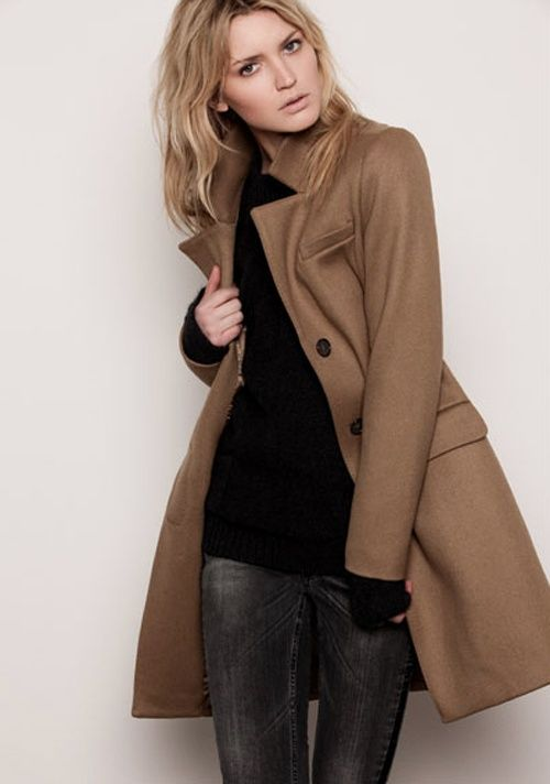 Classe Marron Pinterest C'est Assez Manteau Un Mode Fashion 7HZwZ