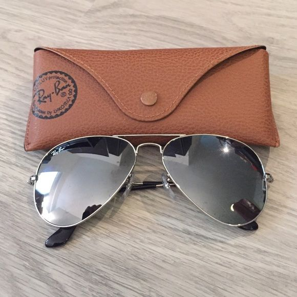20d7abd208 Brand new Ray-Ban Aviator Silver Mirror sunglasses All new with tags ...