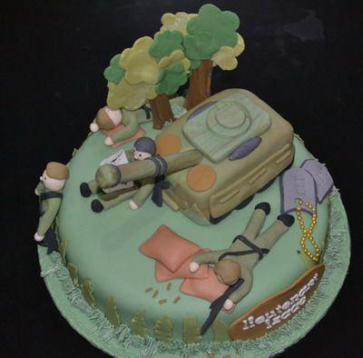 Army Cake CakeArmyNavyMarines Airforce and Coast Guard