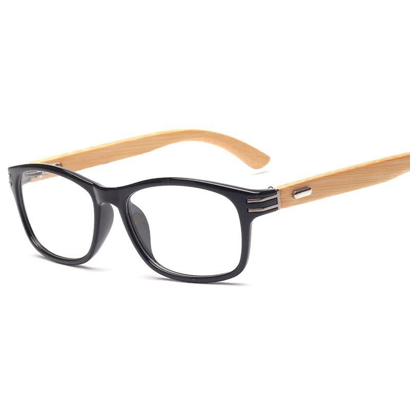 Encontrar Más Marcos Eyewear Información acerca de Bambú Vintage ...