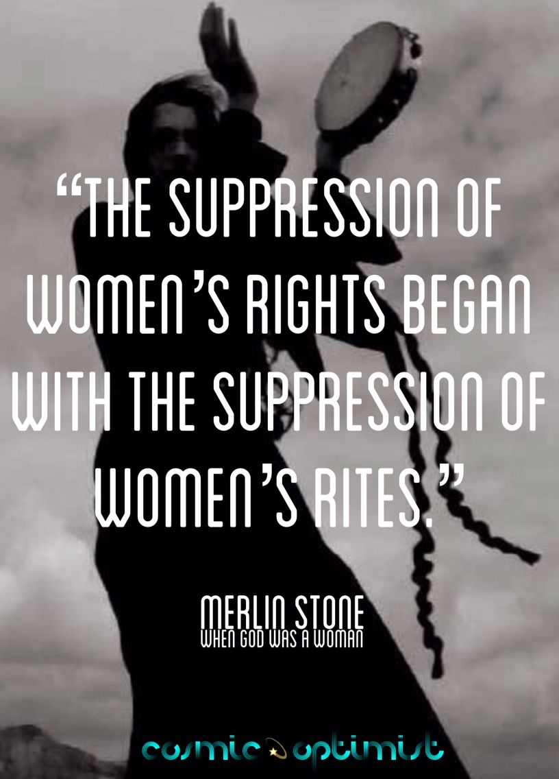 The suppression of women in most modern day religions.