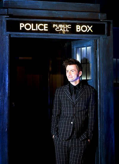 Doctor Who ~ David Tennant/Ten ~ That suit!