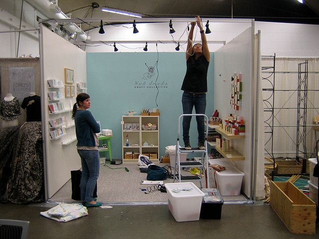 Set Up For The One Of A Kind Show Booth Display Ideas Diy Craft Booth Outdoor Crafts Diy