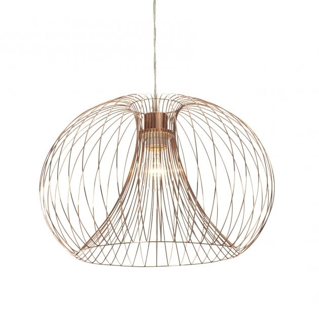 Charmant Beautiful Jonas Wire Copper Pendant Ceiling Light Wire Pendant And Copper Wire  Wiring For Pendant Lights