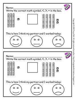 Exit Slips In The Primary Classroom Freebie Math Assessment