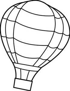 Hot Air Balloon Template - Bing images