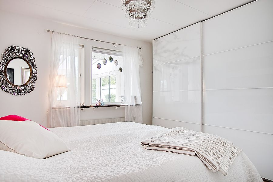 Scandinavian Bedroom Look At Wardrobe Doors