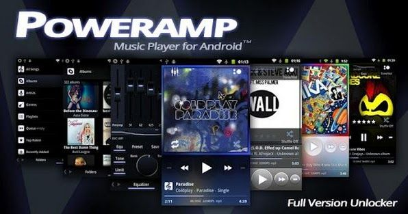 Free Download Poweramp Music Player apk for Apple iPhone
