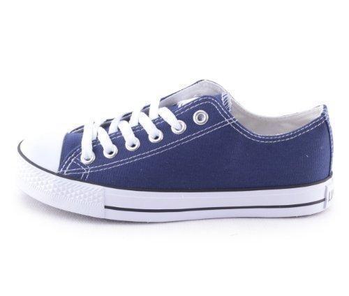 62e7b4a62ee Comprar Ofertas de Mixmatch24 Damen Canvas Leinwand Sneaker Basic Low in