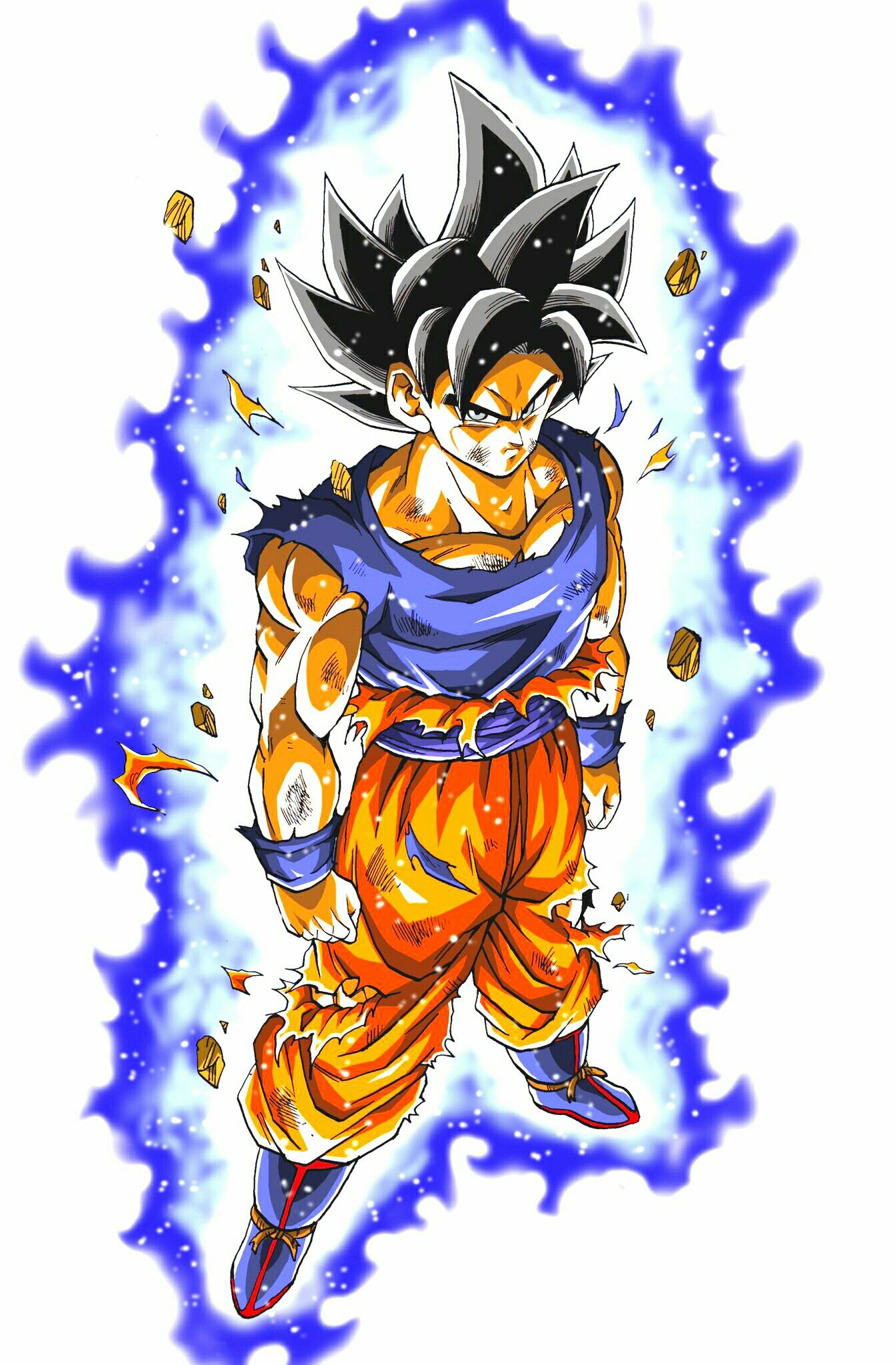 Awesome Dibujos De Goku Ultra Instinto Perfecto Para Colorear