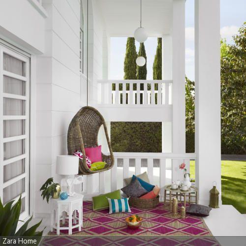 Outdoor-Wohnzimmer werden immer mehr zum Trend.  - mehr auf roomido.com