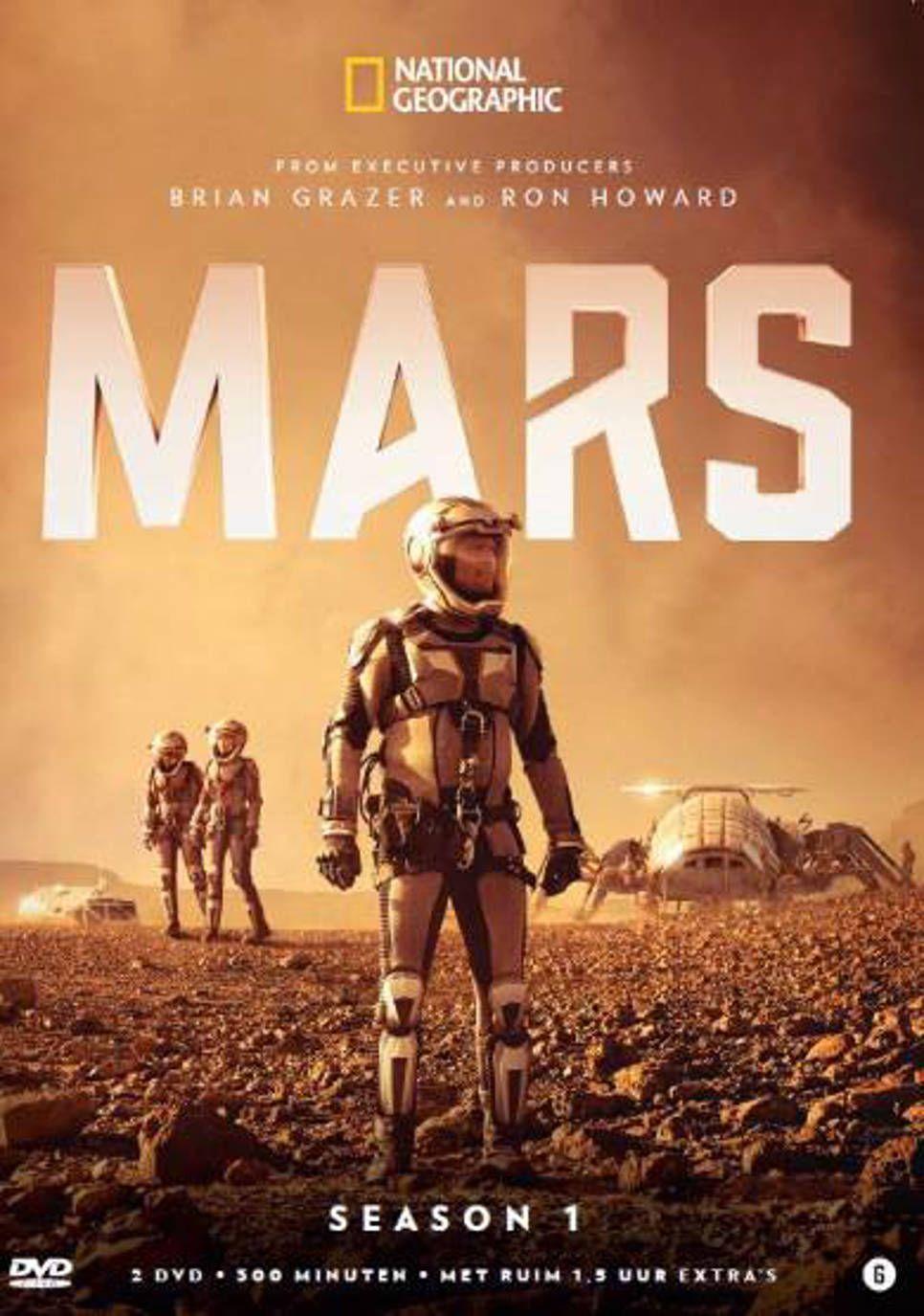 Mars Seizoen 1 Gezien En Gevolgd Op Netflix Drama Tv Shows Mars National Geographic Dvd