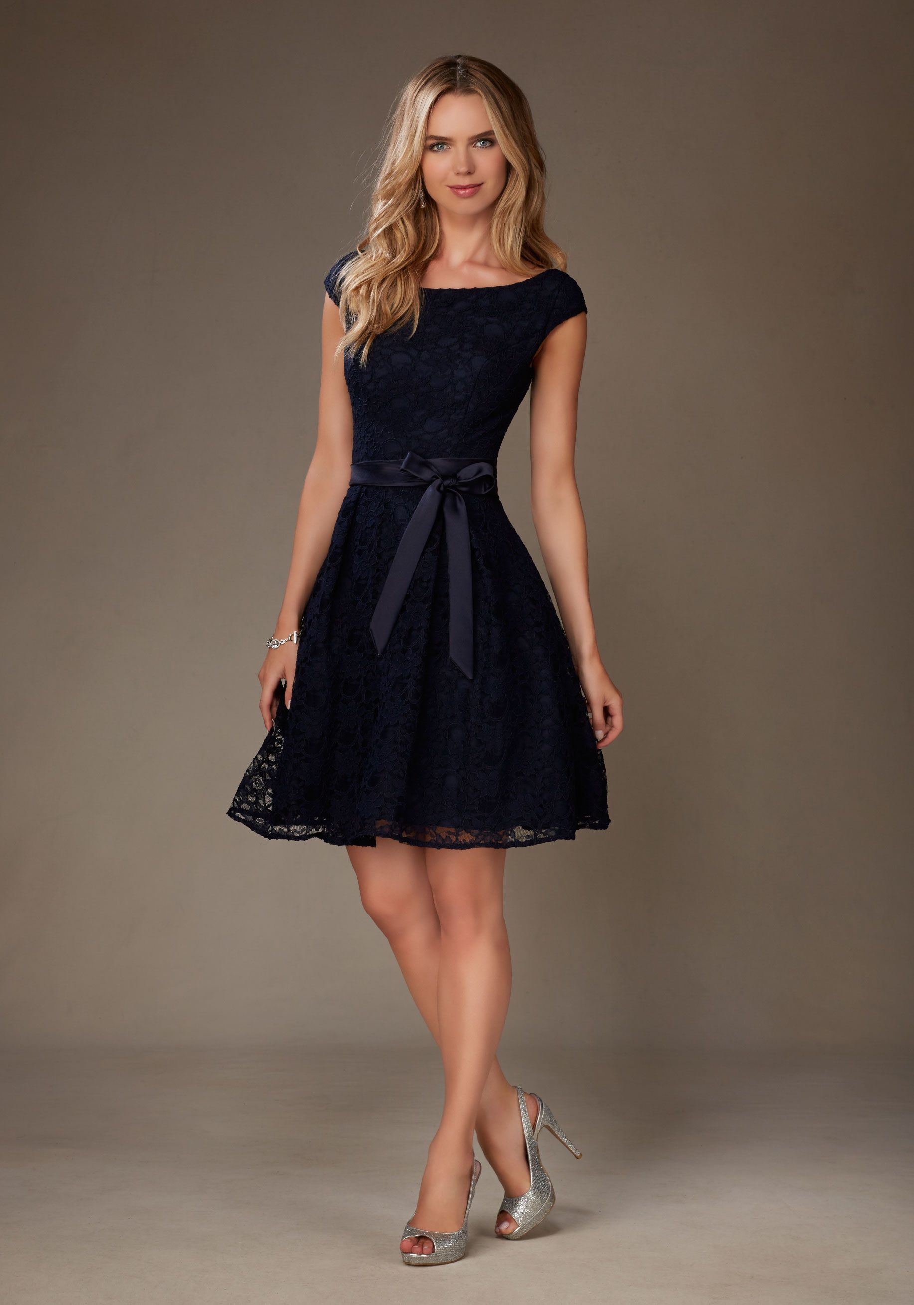 Timeless lace mori lee bridesmaid dress with vback morilee my