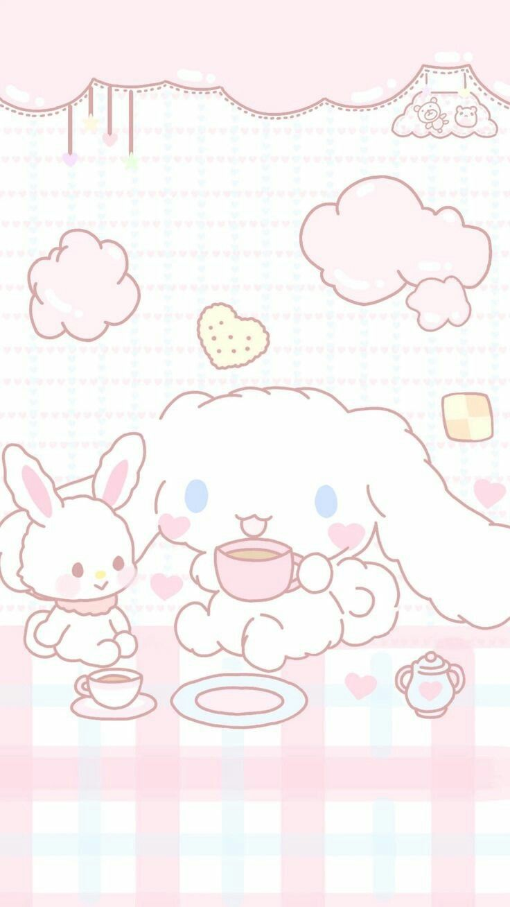 Cinnamoroll Cute Mobile Wallpapers Hello Kitty Wallpaper Cute Patterns Wallpaper