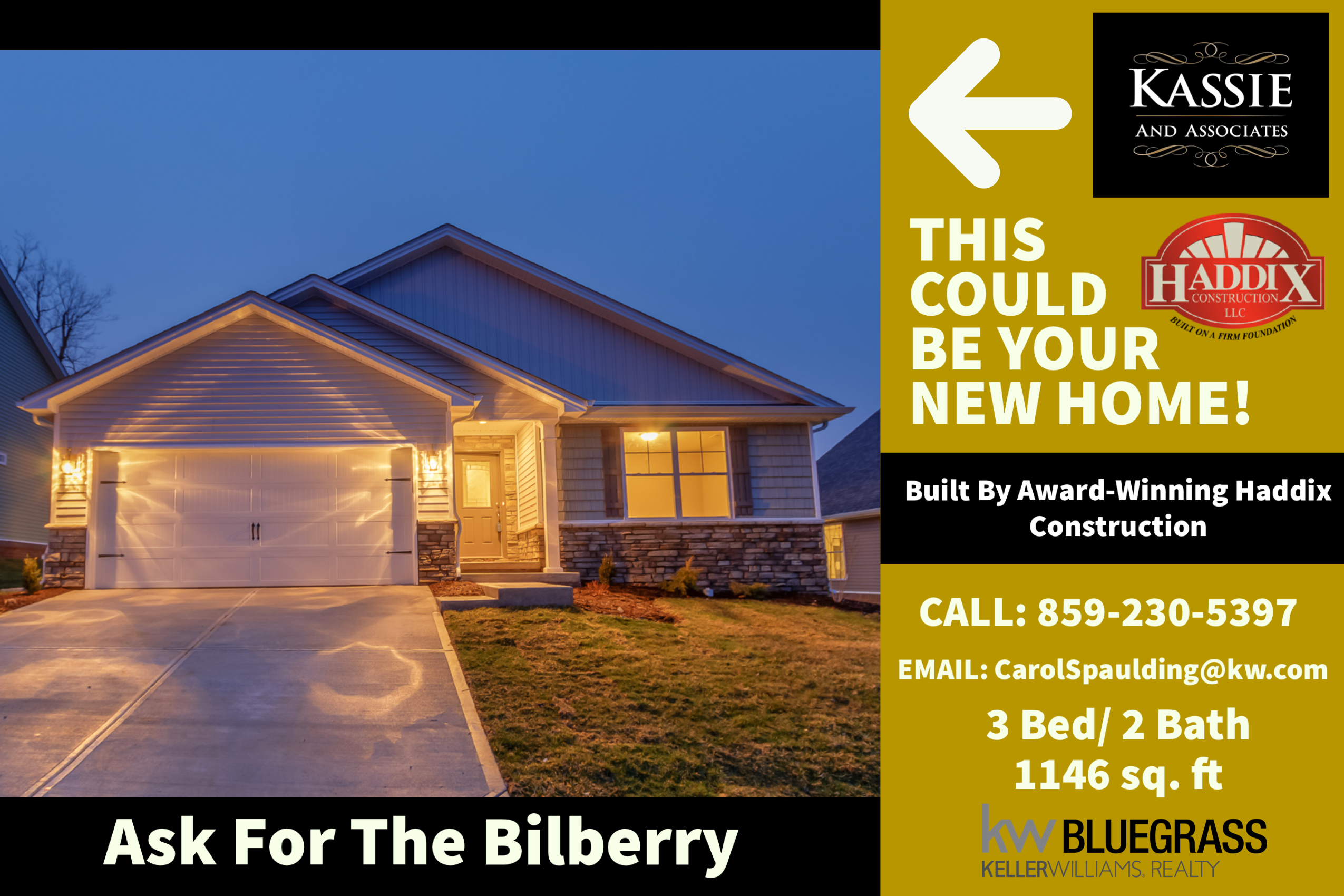 The Bilberry Could Be Your New Home This Is Just One Of The Many Plans That The Award Winning Haddix Construction New Homes Construction Real Estate Companies