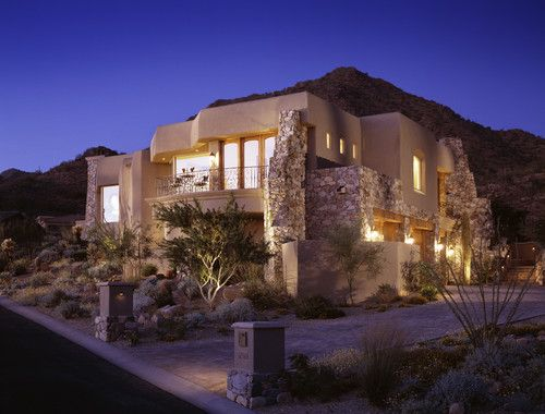 Hawks Canyon residence, Phoenix. Beringer Fine Homes.