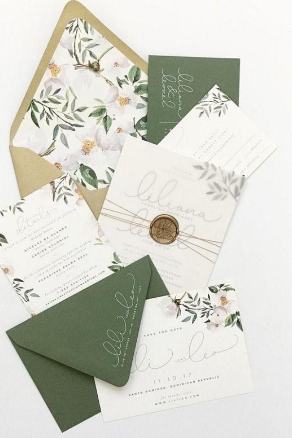 30 Silver Sage Green Wedding Color Ideas For 2019 Sage Green Wedding Colors Sage Green Wedding Boho Chic Wedding Invitations