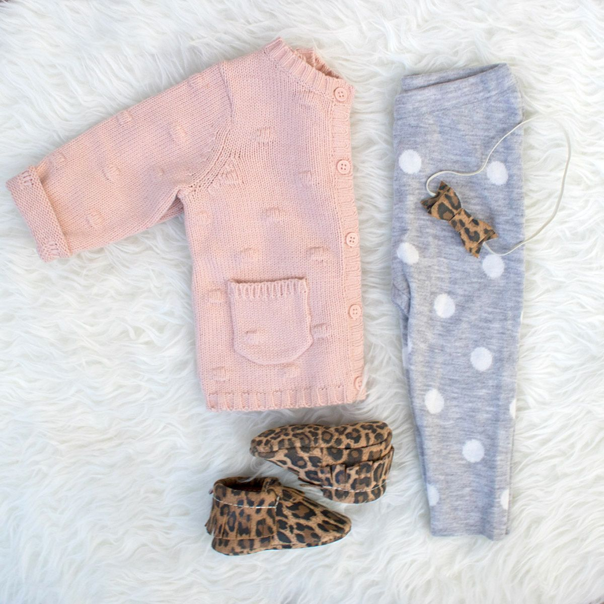 Leopard from Freshly Picked | Baby Moccasins and Bows, Suede ...