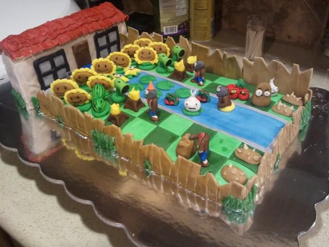 This Plants Vs Zombies Birthday Cake Will Make Your Day Brian M