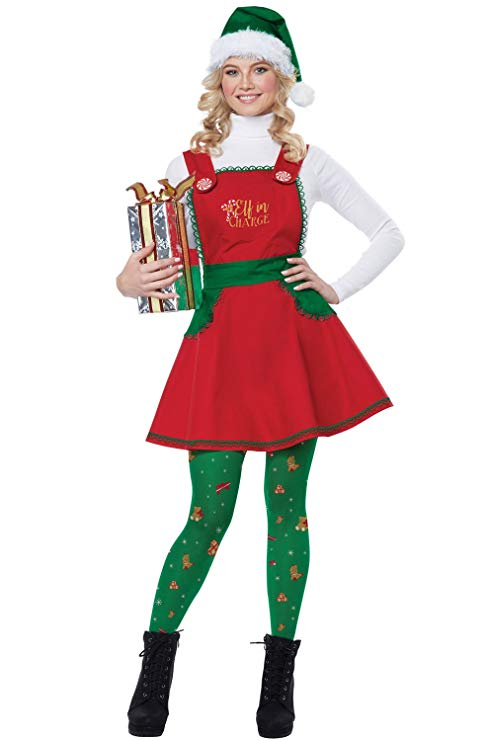California Costumes Elf in Charge Costume
