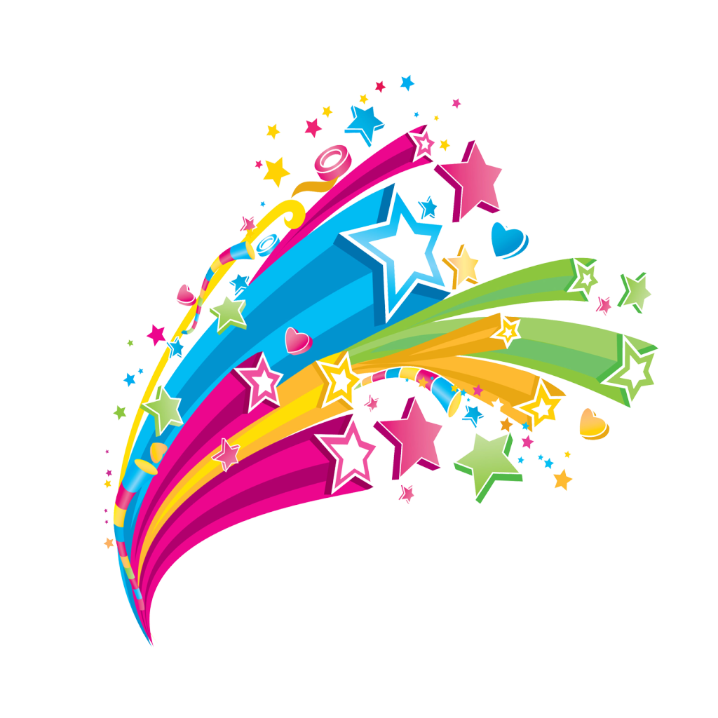 Colorful Stars *STARS* Pinterest Star, Clip art and