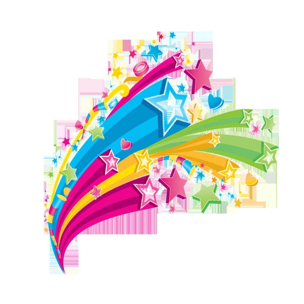 Colorful Transparent Png Rainbow Cartoon Clip Art Clip Art Borders