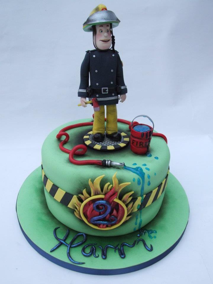 Fireman Sam cake #Fireman #Sam #cake | Bomberos | Pinterest ...