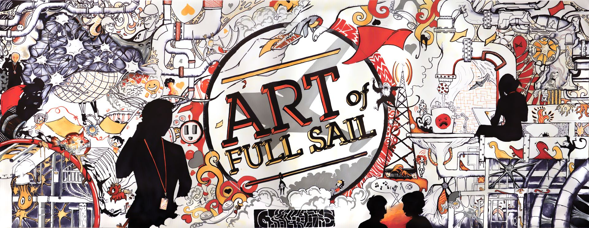 13 Full Sail University students from the Computer Animation and ...