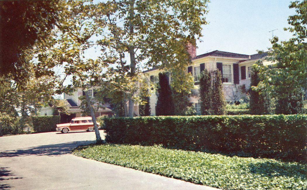 Home Of Lauren Bacall In Bel Air 1050 651