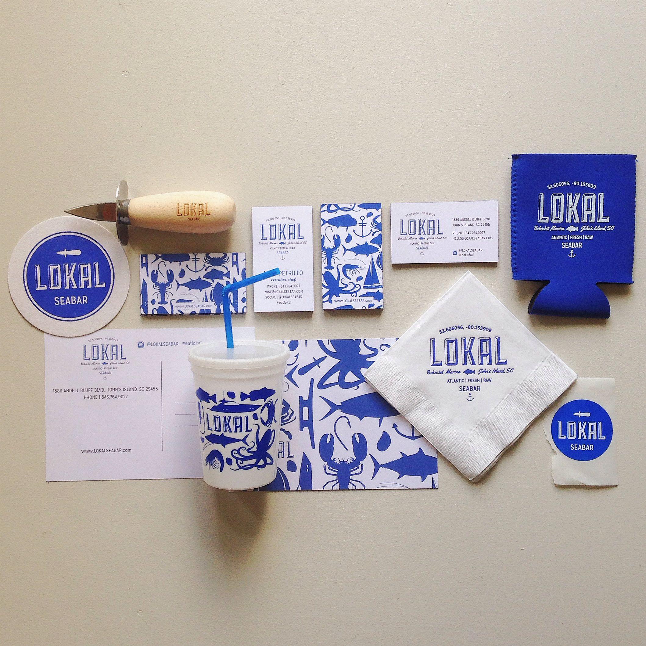 LOKAL Seabar design by Erika Firm