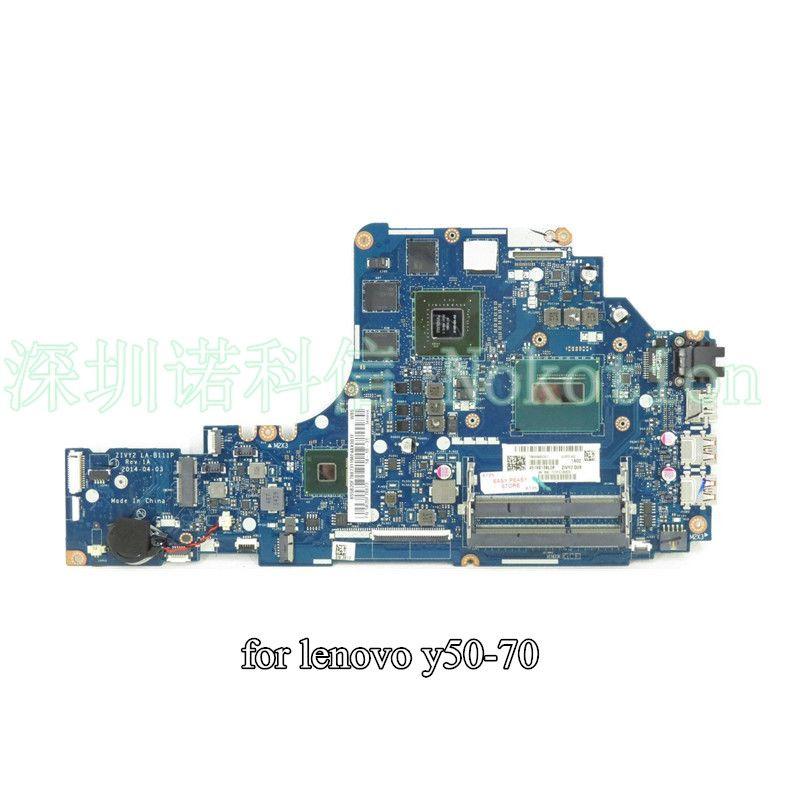 ZIVY2 LA-B111P for Lenovo Y50-70 laptop motherboard I7-4720HQ CPU