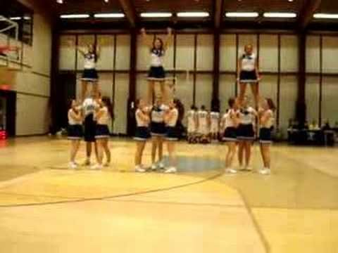 ross cheerleading stunt sequence - YouTube #cheerleadingstunting