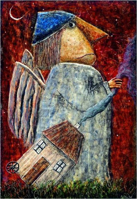ilustración de Ryszard Chmiel
