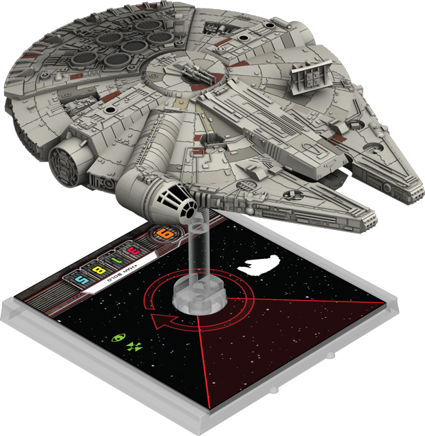 X Wing Star Wars Miniature Game Heroes Of The Resistance Star Wars X Wing Miniatures Millennium Falcon