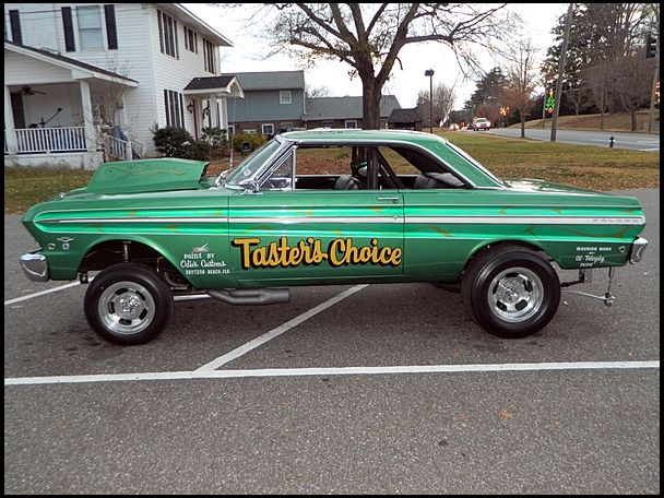 1965 Ford Falcon Hardtop Drag Car 389ci Fuelinjected Pmd V8 400