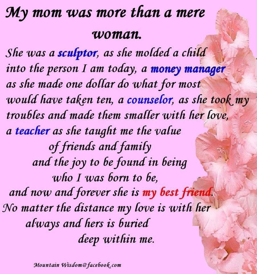 Mom...just a glimpse of what you mean to me!