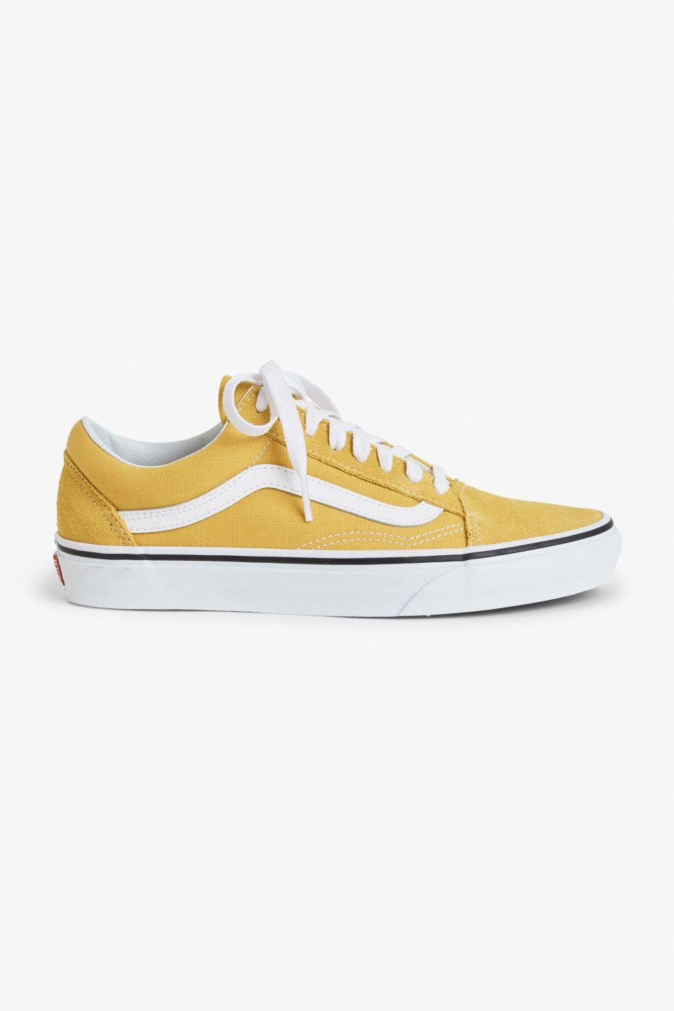 zapatillas vans old skool amarillas