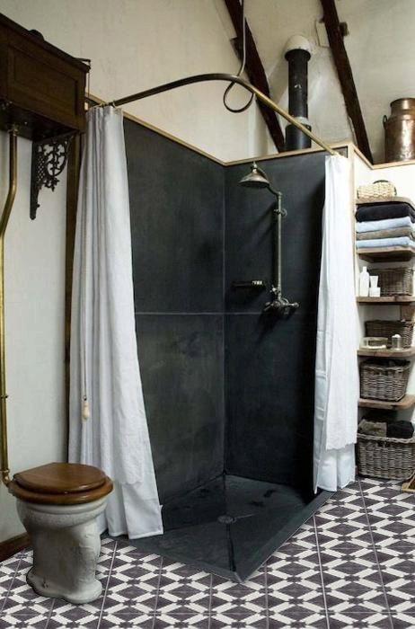 Moroccan Riad Wallpaper In Black Removable Vinyl Wallpaper Peel