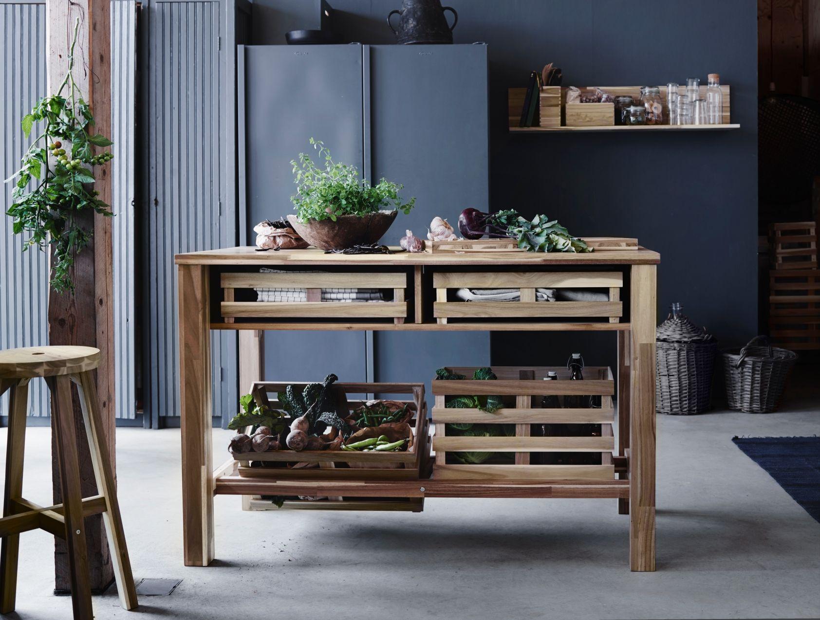 SKOGSTA | Ikea, Woonideeën, Bar tafel