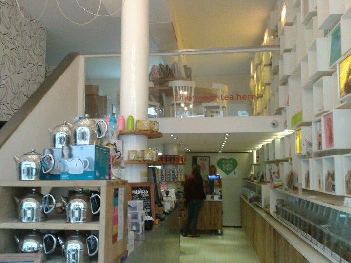 The Tea-Bar. Haarlemmerdijk 71  Amsterdam.