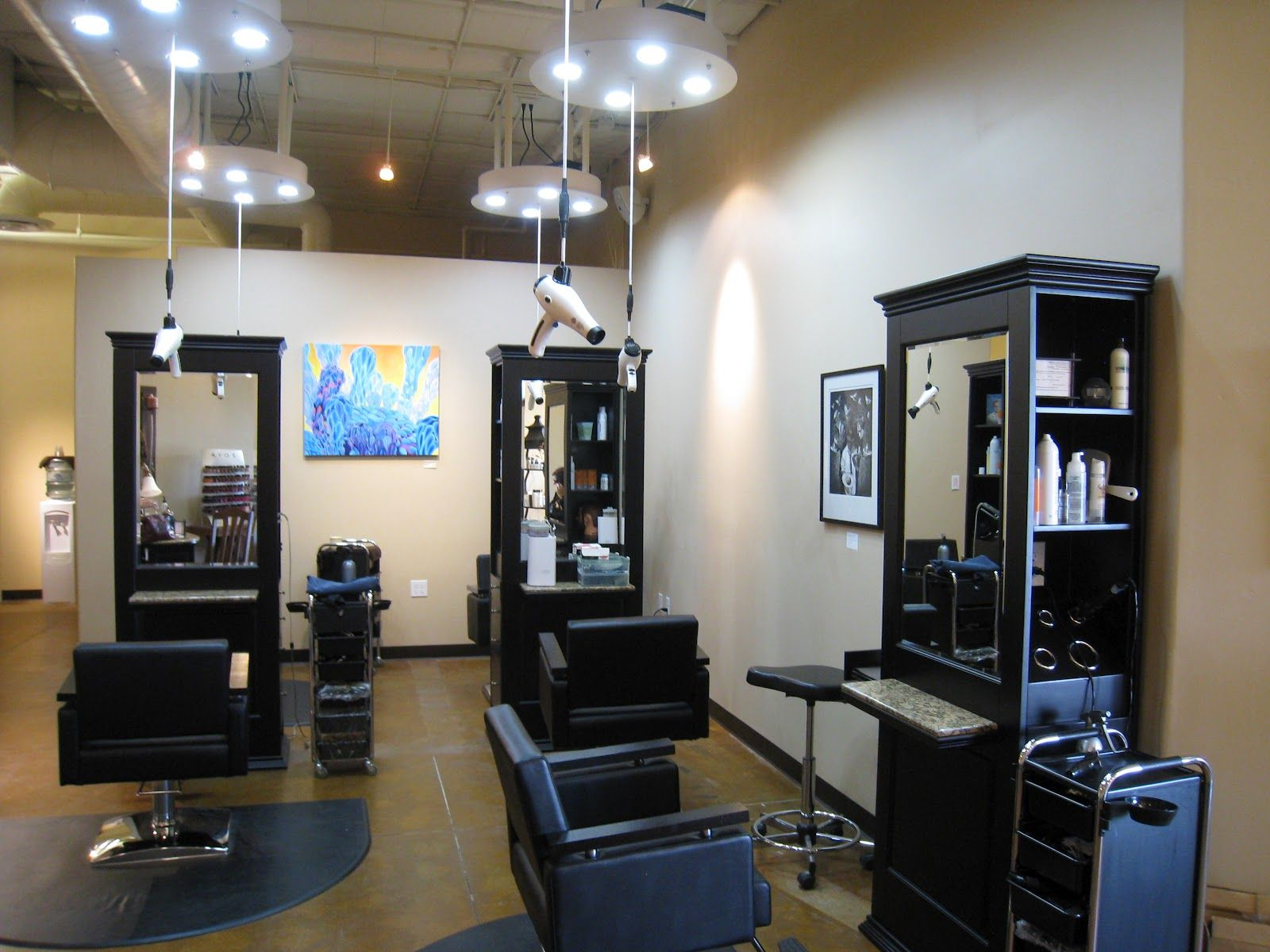 beauty salon interior design pictures photo image - Hair Salon Design Ideas