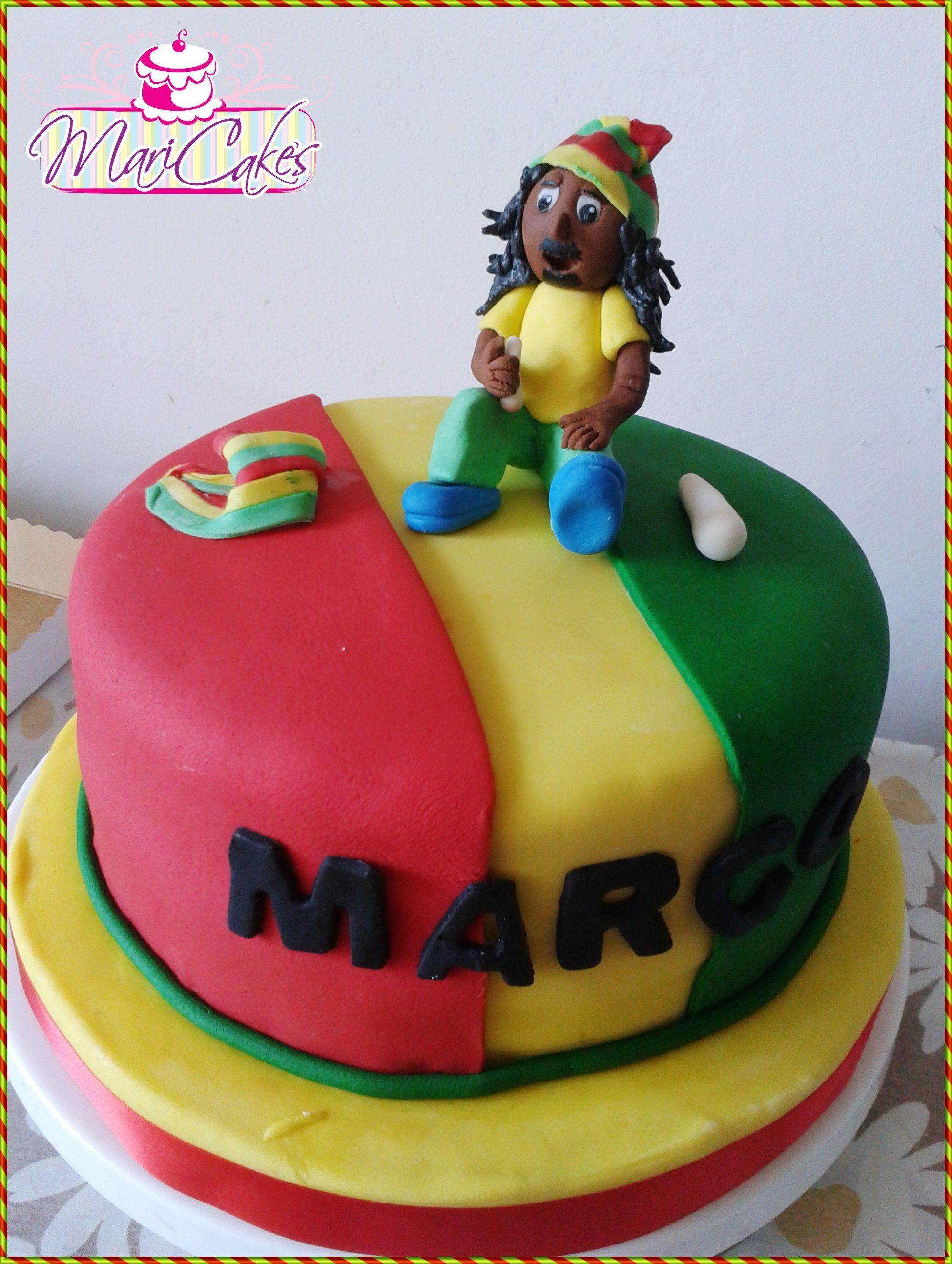 Bob Marley Cake Cake Adultos Pinterest Bob Marley