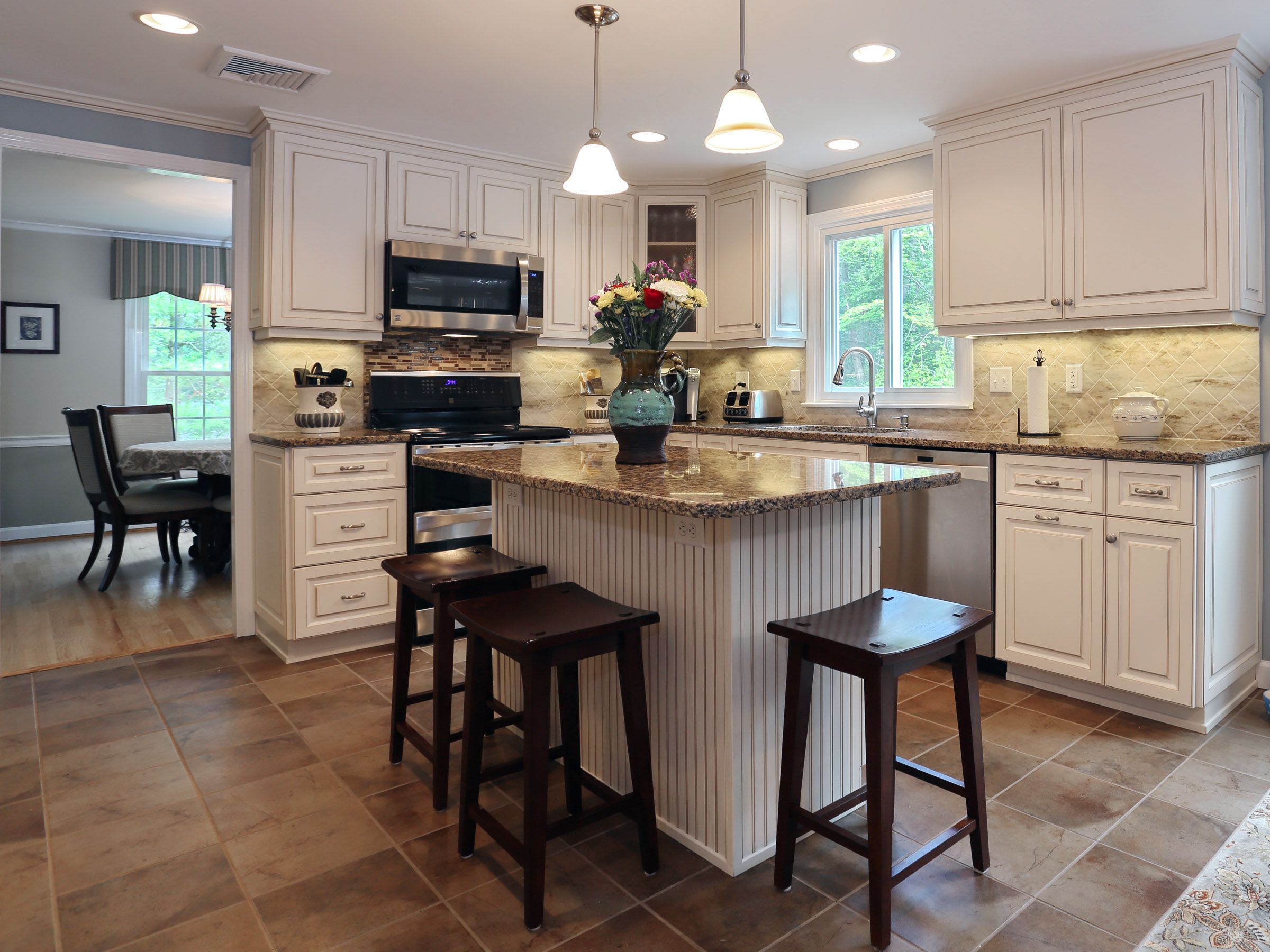 White Kitchen Cabinets Quartz Countertops have you ever seen a canterbury kitchen? | antique white cabinets