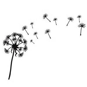 Dandelion Blowing In The Wind Tattoo 50410 Movieweb