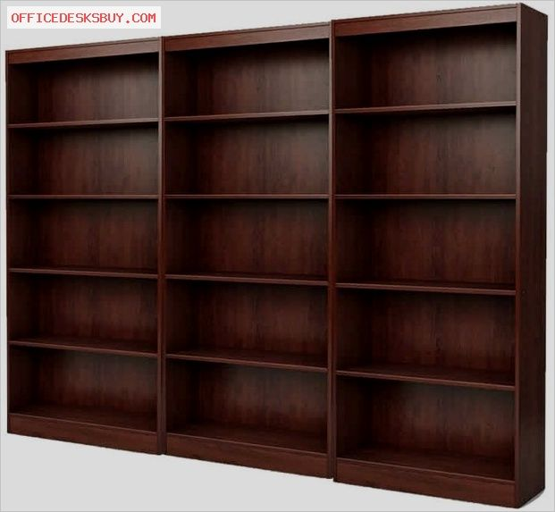 South Shore Office 5 Shelf Wall Bookcase In Royal Cherry    Http://officedesksbuy