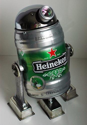 Degustamos Barril Heineken De 5 Litros Latas De Cerveja